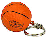 Basketball Keyring Stress Balls